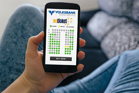 Volksbank Online-Ticketservice